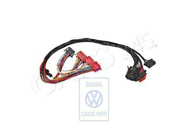 Genuine VW Wiring Harness For Steering Column Switch NOS