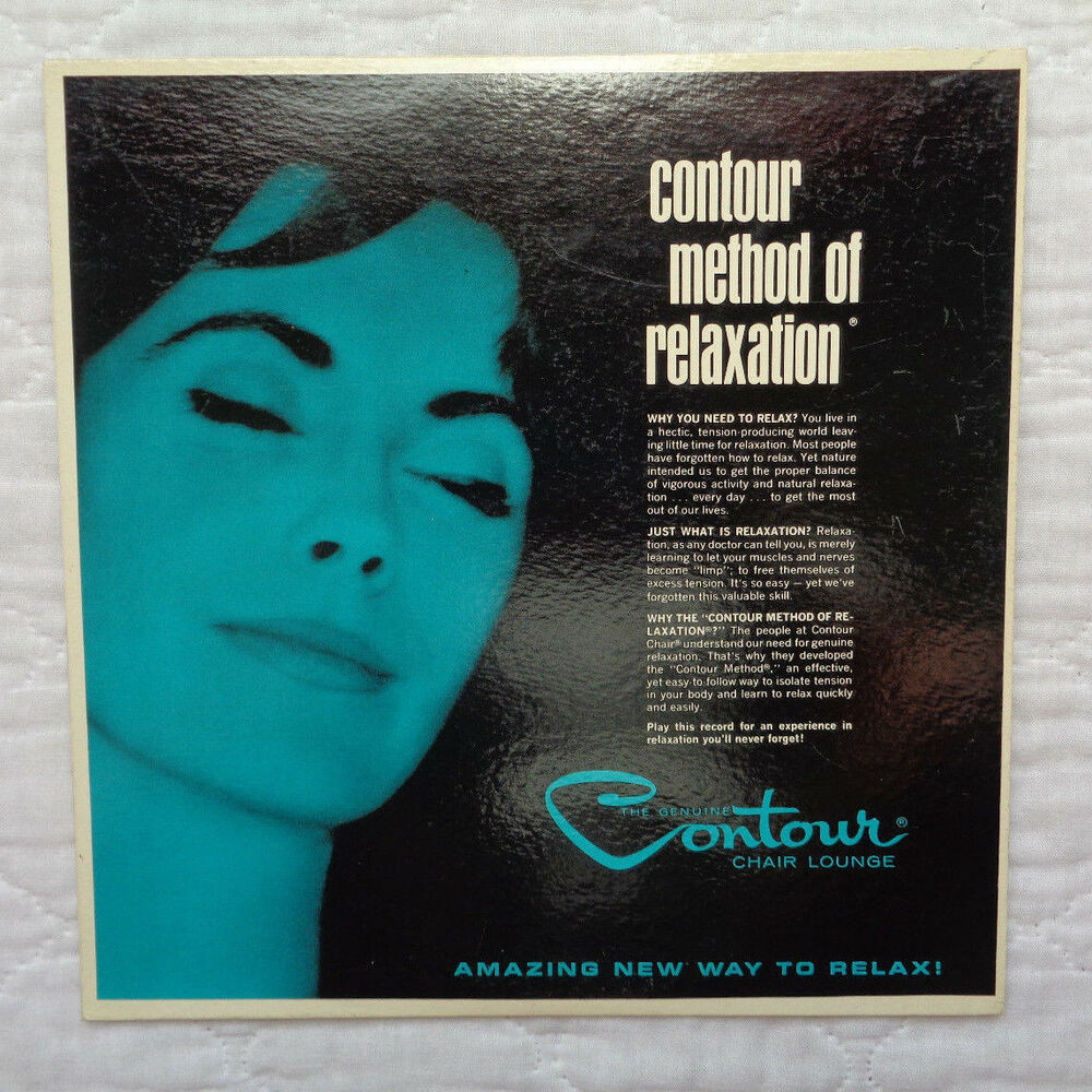 Contour Chair Lounge Contour Chair Lounge Contour Method Of Relaxation Lp 1964 Extremely Rare Exc C Ebay