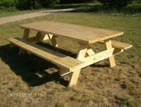 free plans for building a picnic table | Quick Woodworking ...