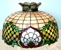 VICTORIAN ERA GLASS SHADE (GLASS HANGING LAMP, CEILING ...