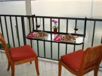 Terrace Table - Folding Balcony Table Patio Table Railing ...