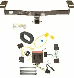 2007 10 ford edge trailer hitch kit wiring harness 2 commercial trailer wiring harness sealco trailer [ 990 x 1000 Pixel ]