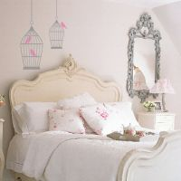 BIRD CAGE VINTAGE/SHABBY CHIC SYLE Wall Art Sticker/Decal ...