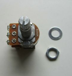 electric guitar push pull pots guitar control linear potentiometers [ 1000 x 859 Pixel ]