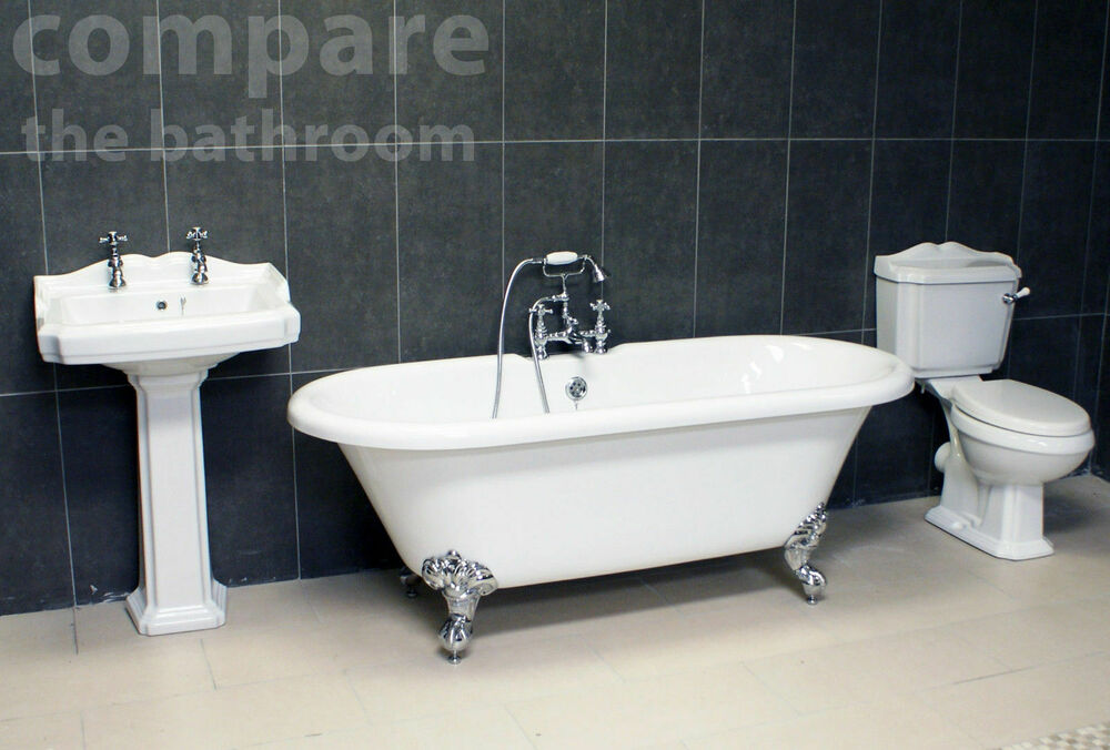 Traditional Bathroom Suite Legend Edwardian Classic