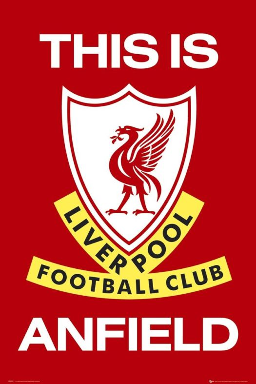 Liverpool FC Poster This Is Anfield Football Club New   eBay