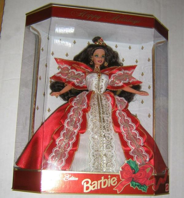Barbie Special Edition Happy Holidays Collectible Doll