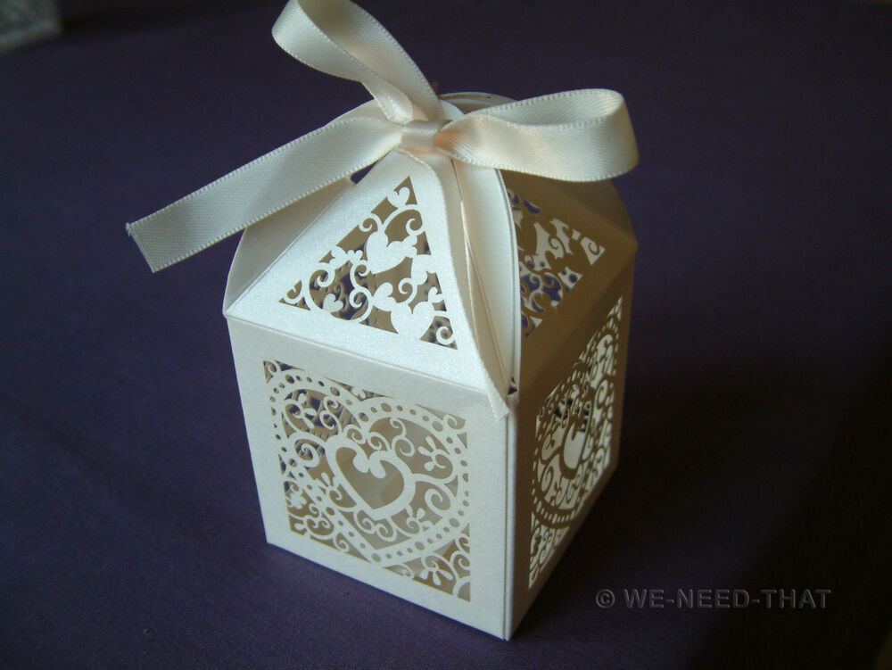 NEW Luxury Wedding Sweets Favour Boxes
