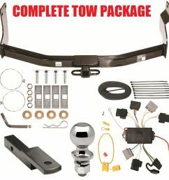 05 07 ford escape complete trailer hitch receiver tow ford wiring harness repair kit ford wiring [ 988 x 1000 Pixel ]