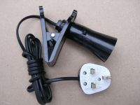 CLIP ON lampholder Basking HEAT LAMP Tortoise VIVARIUM ...