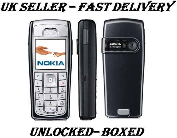 CHEAP NEW CONDITION NOKIA 6230I BLACK UNLOCKED CLASSIC