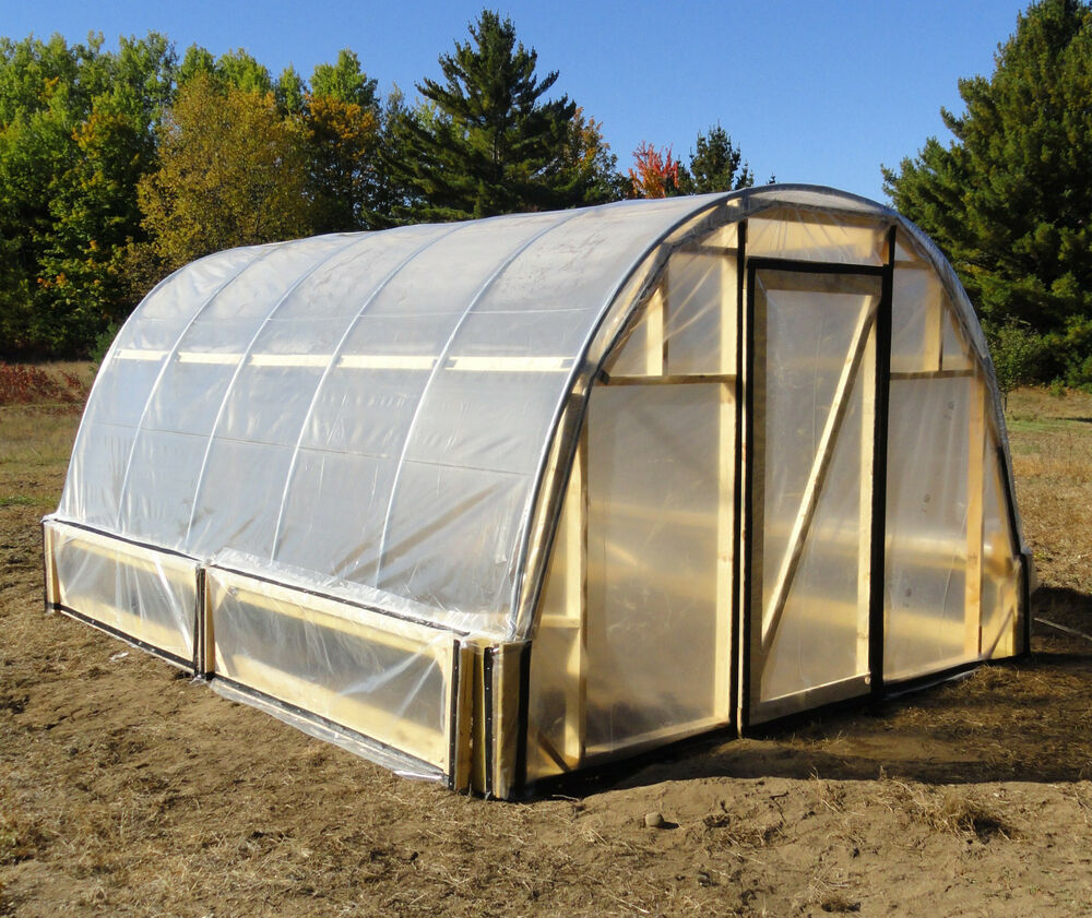 Greenhouse Hoop House Plans Easy To Do!! EBay