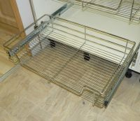 Pull out Wire Basket Chrome Kitchen - Bedroom Drawer ALL ...