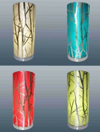 Modern Cylinder Shaped Mood Lamp Cream / Olive / Red ...