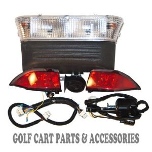 Club Car Precedent Golf Cart Deluxe Headlight Tail & Light