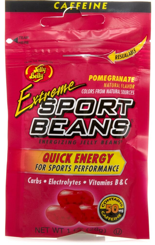 EXTREME POMEGRANATE SPORT BEANS Candy ~ Energizing ~ JELLY ...