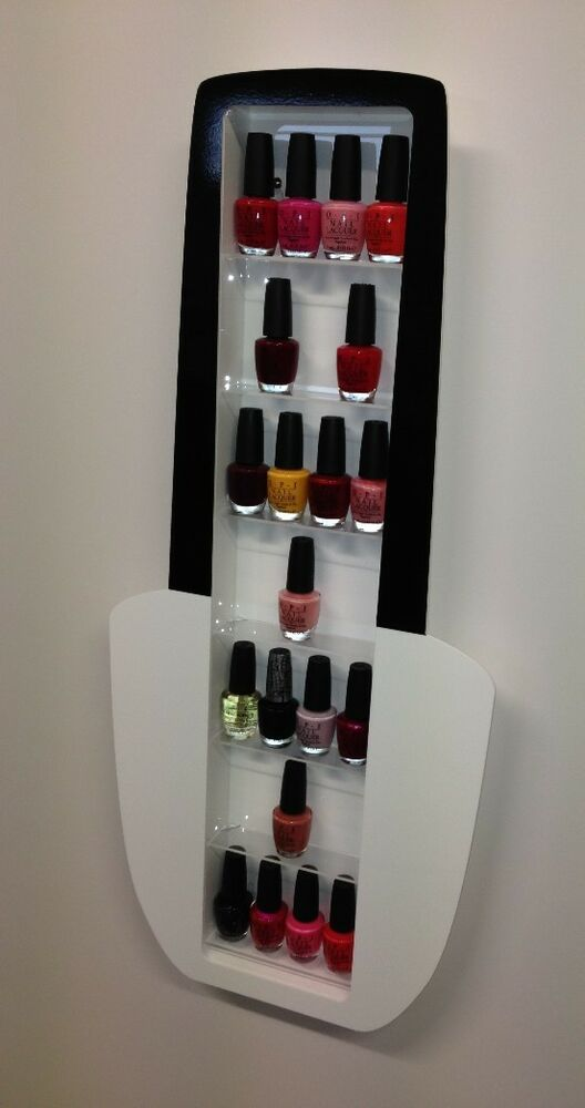 NAIL VARNISH ACRYLIC DISPLAY STAND NAIL POLISH BOTTLE