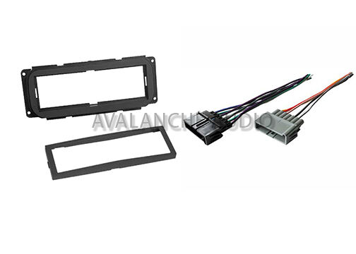 Chrysler Dodge Jeep Dash Car Stereo Radio Installation Kit