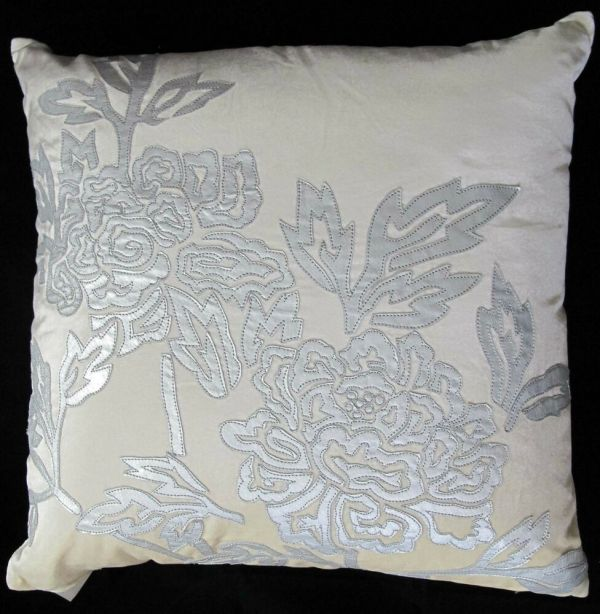Natori Snow Leopard Velvet Decorative Square Pillow Na30