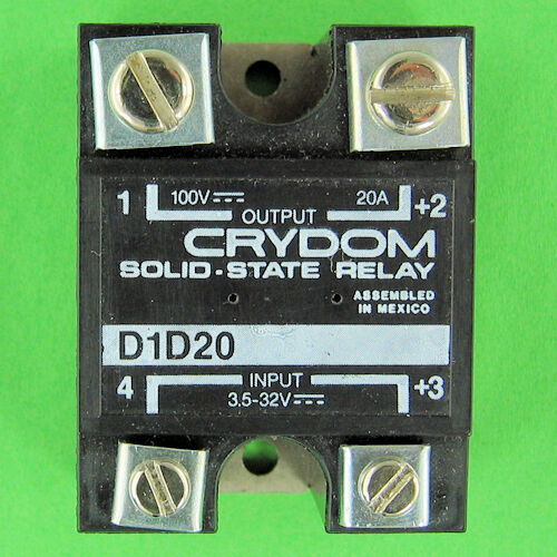 Crydom 20 Amp D1d20 Dc Solid State Relay 100 V 20 A Ssr 3