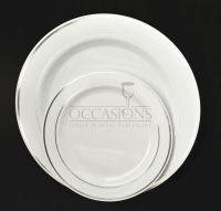 Bulk, Wedding Party Disposable dinnerware Heavyweight