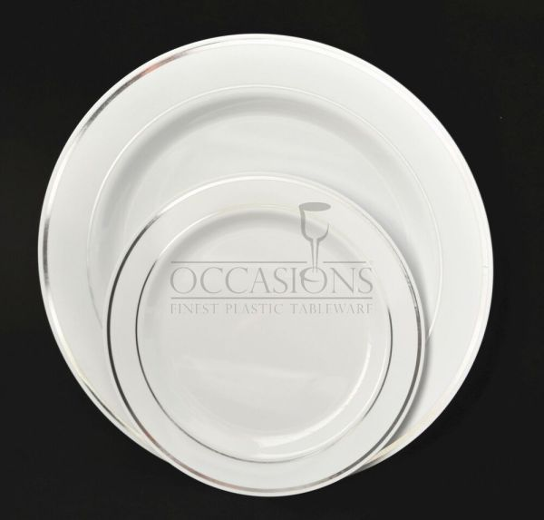 Bulk Wedding Party Disposable Dinnerware Heavyweight