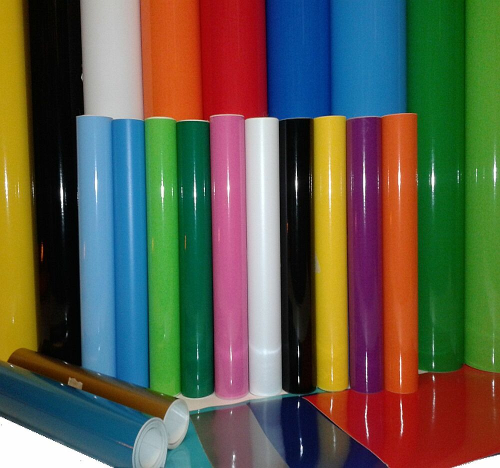 2M ROLL OR A4 SELF ADHESIVE VINYL STICKY BACK PLASTIC FOR