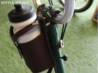 Ba sport Bicycle leather BOTTLE HOLDER Water Bottle Cage ...