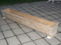 Wood Patio Planter Boxes