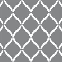 "Moroccan Wall Stencil LARGE 12""x9"" Craft Airbrush Pattern ..."