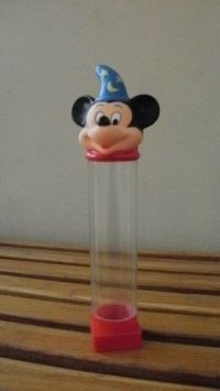 Vintage Mickey Mouse Pencil holder and pencil Sharpener
