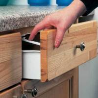 Clippasafe Cupboard Drawer Lock Secure Catches 6 Pack ...