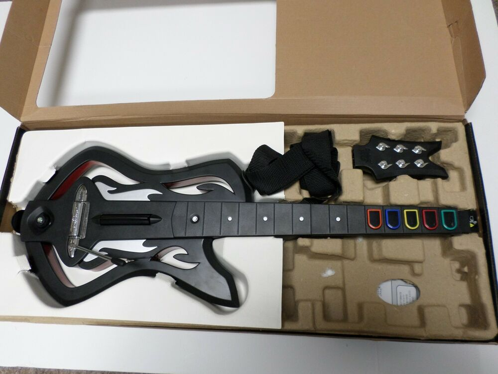 XBOX 360 Guitar Hero Warriors Of Rock Wireless Guitar