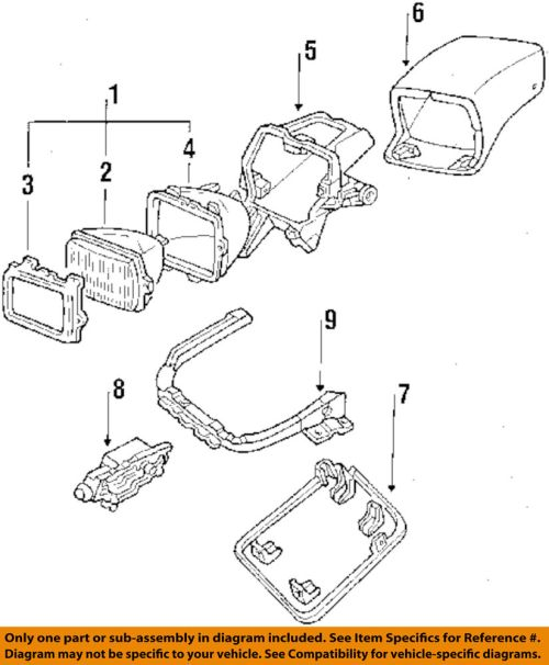 small resolution of details about chevrolet 84 96 corvette headlamp front lamps door right 10137734 reproduction