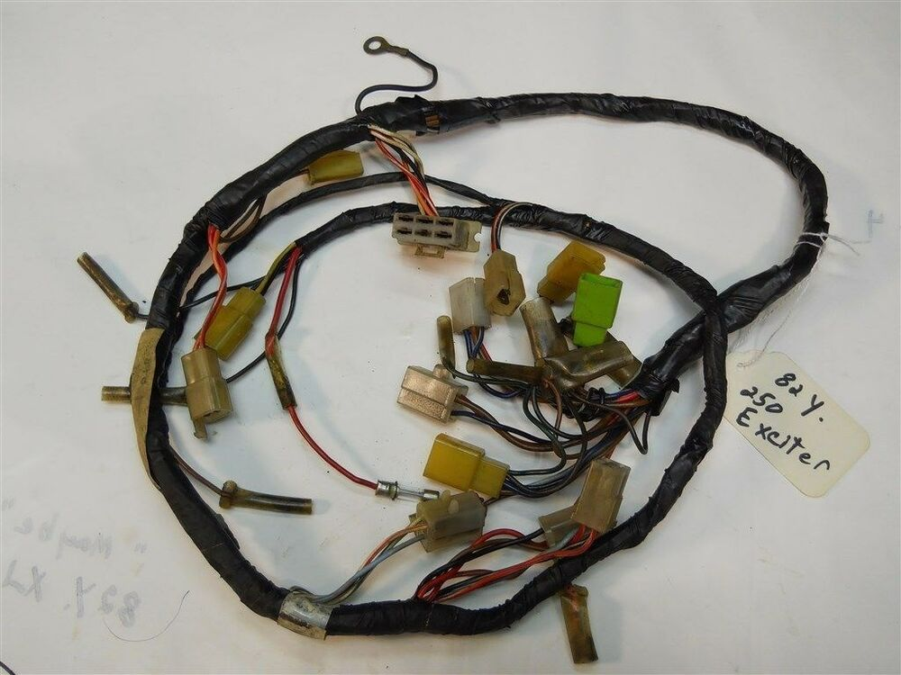81 Sr250 Exciter 1 Exciter 11 Main Wire Harness 3y6