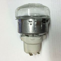 Commercial Kitchen Equipment List Cabinet For Appliances Convection Oven Lamp/light Assembly W/ Socket, Glass Cover ...