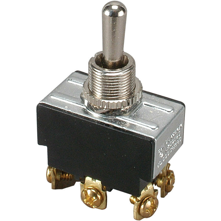70250 Heavy Duty Momentary Contact Toggle Switch Spst Onoff Screw