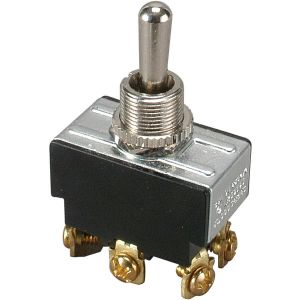DPDT Heavy Duty Toggle Switch Center Off Momentary