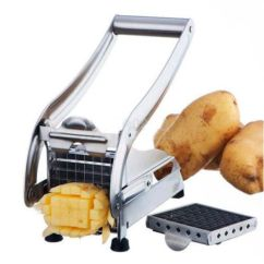 Kitchen Dicer Slicer Bar Table Sets Manual Stainless Steel Potato French Fry Vegetable ...