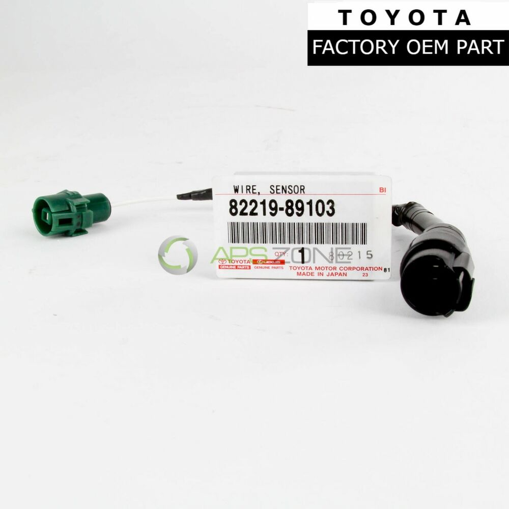 hight resolution of details about genuine toyota 4runner pickup 88 92 knock sensor wire harness oem 82219 89103