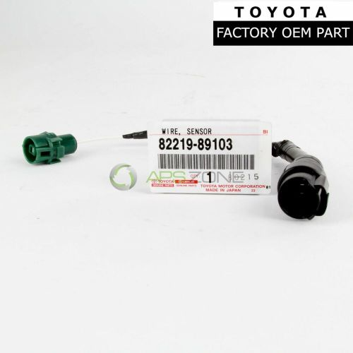 small resolution of details about genuine toyota 4runner pickup 88 92 knock sensor wire harness oem 82219 89103