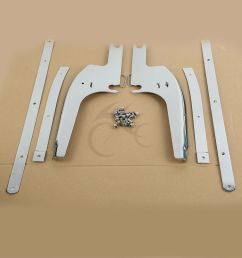 details about windshield windscreen bracket kits for harley touring road king flhr 1994 2019 [ 1000 x 1000 Pixel ]