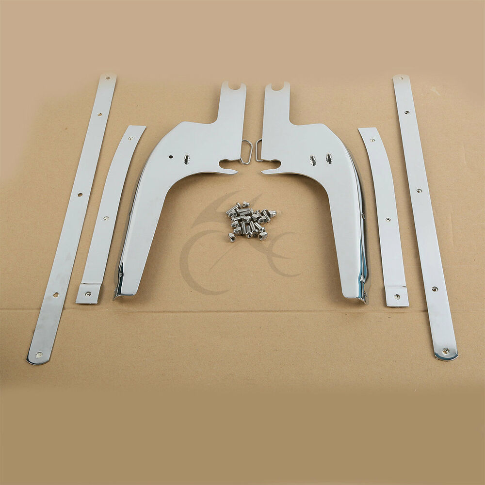medium resolution of details about windshield windscreen bracket kits for harley touring road king flhr 1994 2019