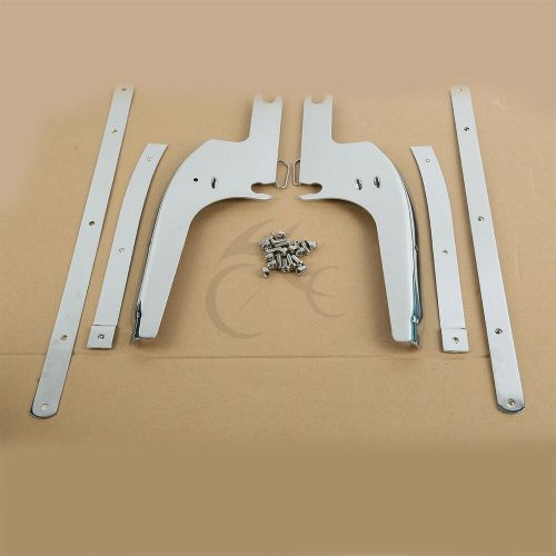 small resolution of details about windshield windscreen bracket kits for harley touring road king flhr 1994 2019