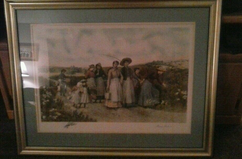 Jennie brownscombeberry pickers picture  eBay