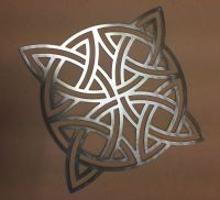 Metal Wall Art Silhouette Sculpture In/Outdoor Decor-Snow ...