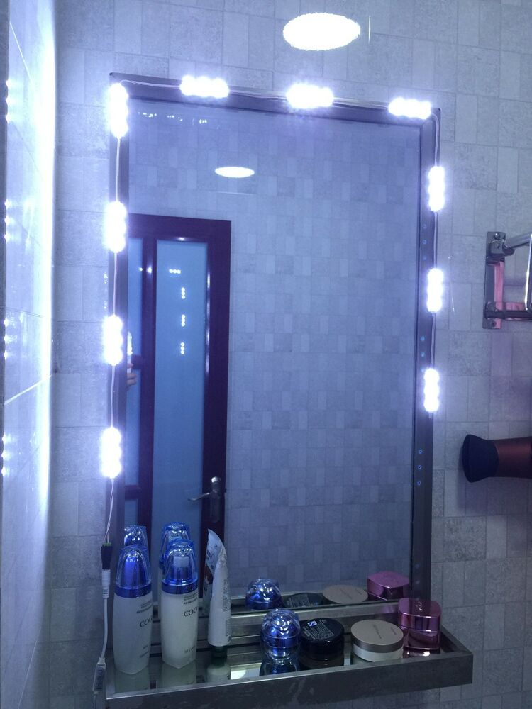 5ft super white 30leds Lighted Cosmetic Makeup Vanity