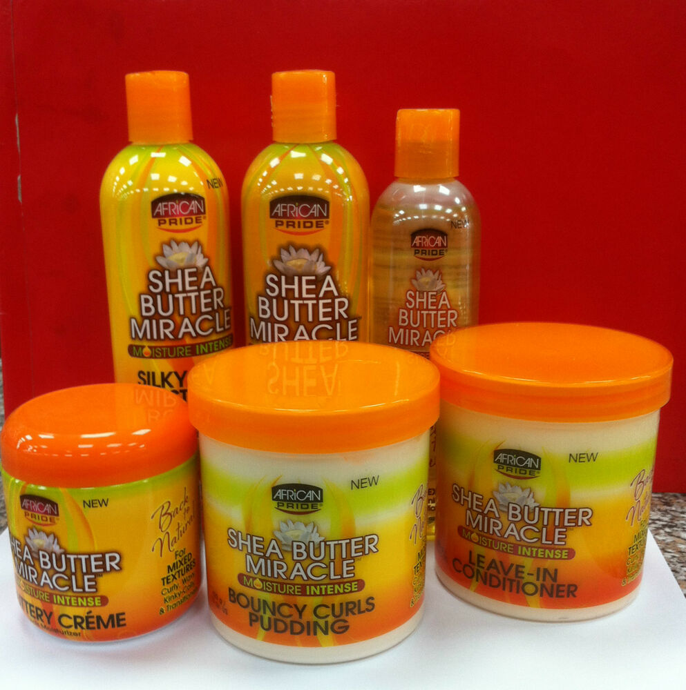 AFRICAN PRIDE SHEA BUTTER MIRACLE BACK TO NATURAL HAIR ...