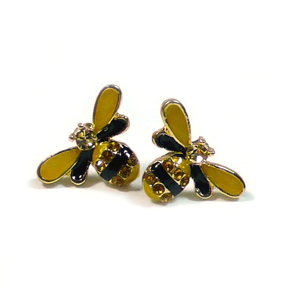 Bumblee Honey Bee Yellow Cute Fashion Jewelry Women Kid