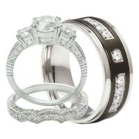 Wedding Anniversary Ring Sets - Jewelry Ideas